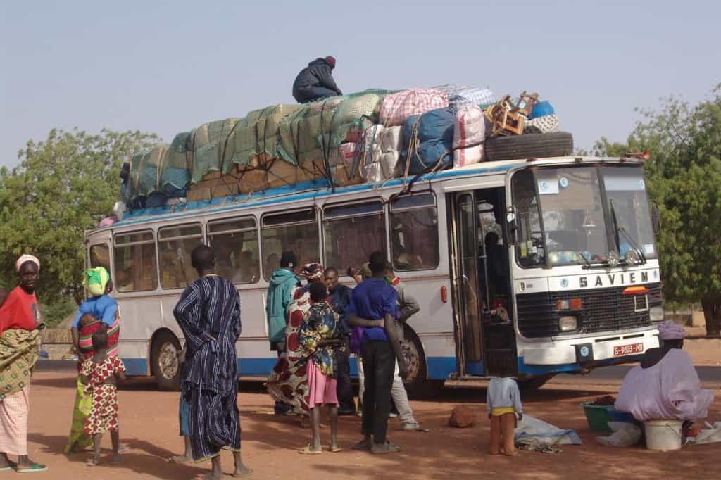 bus broke down